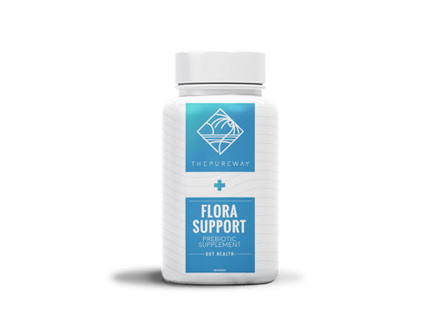 Flora Support Prebiotic Supplement (120 Capsules)