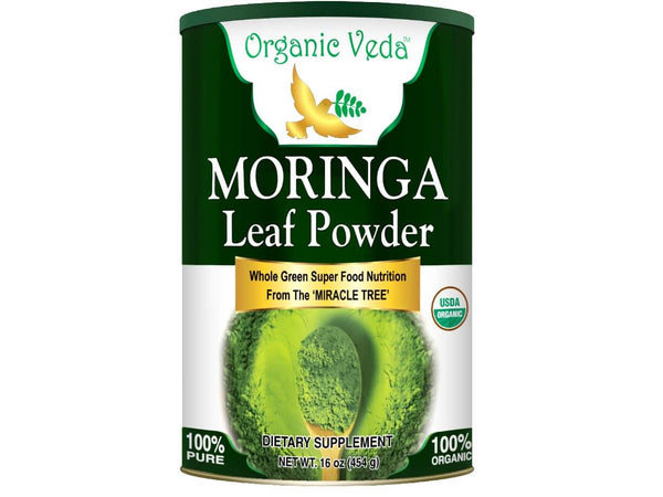 Organic Moringa Leaf Powder (16oz)