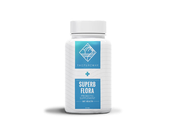 Superb Flora Active Probiotic Supplement (60 Capsules)