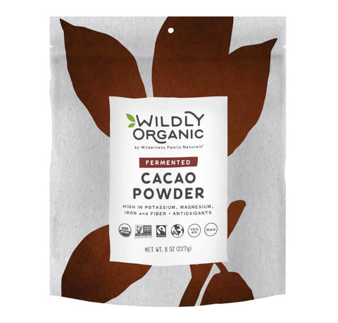 Raw, Organic Cacao Powder (8oz)