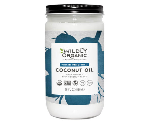 Organic Cold Pressed Coconut Oil (14-64oz)
