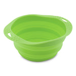 Beco Collapsible Travel Bowl, Green