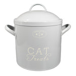 Cat Treat Storage Tins