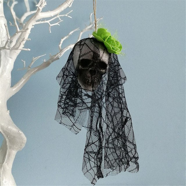 Halloween Hanging Decor Pirates Corpse Skull