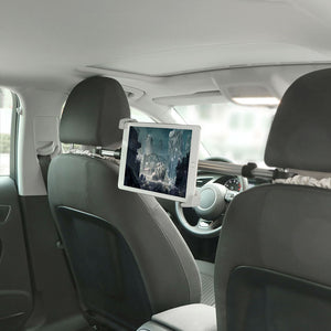 Seat Tablet Holder | 360 Degree Rotatable |  Aluminum
