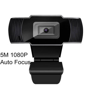 5 Megapixel 1080P Auto Focus PC Web USB Camera with Microphone