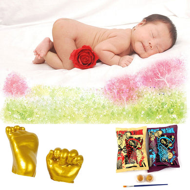 3D Baby Hand/Foot Print Plaster Casting Kit