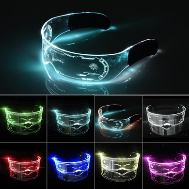 EL Wire Neon Party Luminous LED Glasses