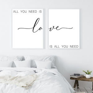 All You Need Is Love, Love Is All You Need