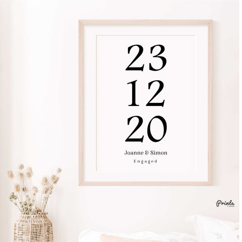Special Date Print - Customisable