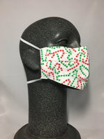 Cotton Face Mask - Candy Cane