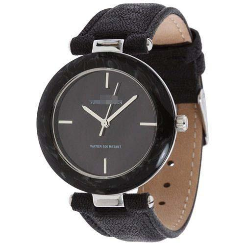 Customize Calfskin Watch Bands 9853BMBK