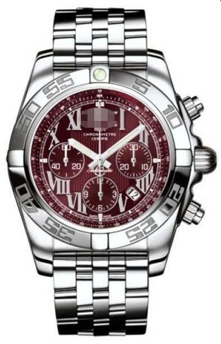 Customized Dark Red Watch Dial AB011012/K522-SS
