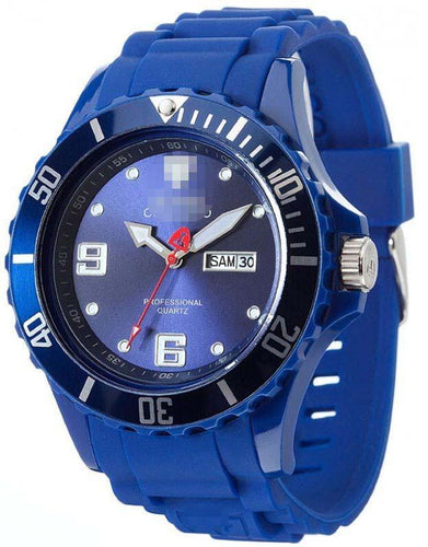 Customized Blue Watch Face DT2029-C