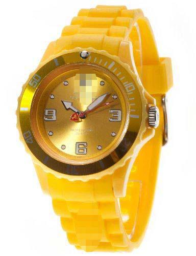 Customized Yellow Watch Dial DT3007-C