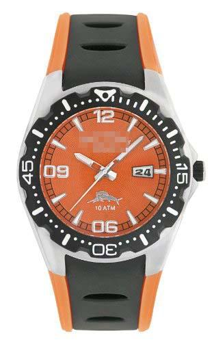 Custom Orange Watch Dial RLX1154