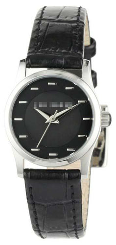 Custom Black Watch Dial TE2064