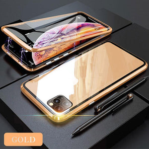 (BUY 2 FREE SHIPPING)Anti-peep Magnetic Adsorption Phone Case For iPhone 11 Pro Max( Double Side)