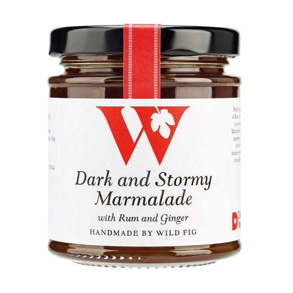 Dark and Stormy Marmalade with Rum and Ginger