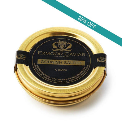 Exmoor Caviar - Cornish Salted, 20g
