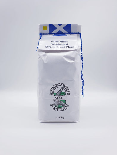 Mungoswells - Farm Milled Strong Wholemeal Flour (1.5 kg)
