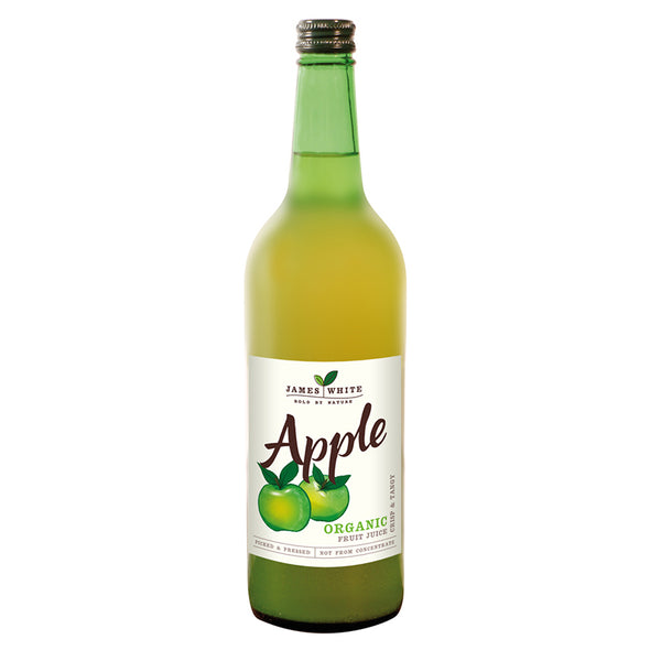 James White - Organic Apple Juice (750ml)