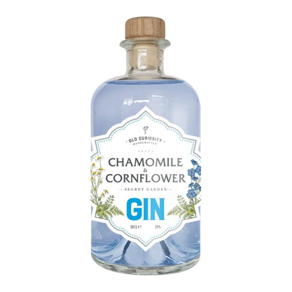 Old Curiosity Gin - Chamomile and Cornflower - 20cl, 39%