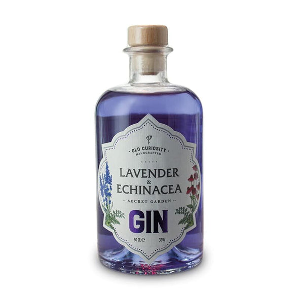 Old Curiosity Gin - Lavender and Echinacea - 50cl, 39%
