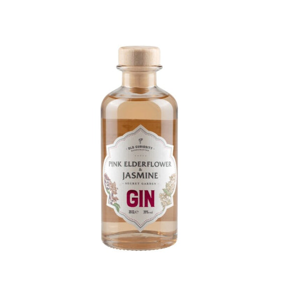 Old Curiosity Gin - Pink Elderflower and Jasmin - 20cl, 39%