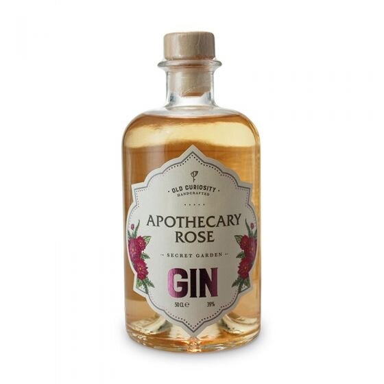Old Curiosity Gin - Apothecary Rose - 50cl, 39%
