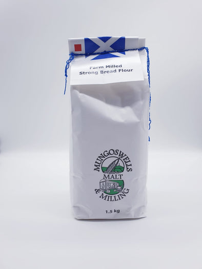 Mungoswells - Farm Milled Strong Bread Flour (1.5 kg)
