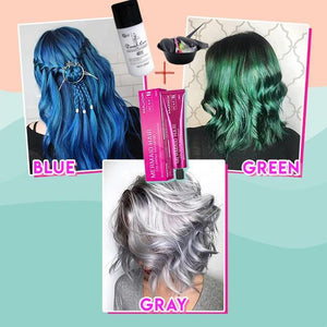Mermaid Hair Coloring Shampoo