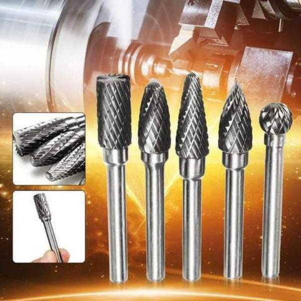 All-In-One Premium Carbide Rotary Burr Set