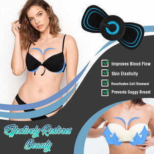 Adhesive Electric Massage Pad
