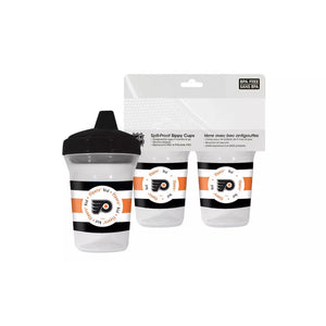 🏒 NHL Flyers Spill-Proof Sippy Cups (2-Pack)