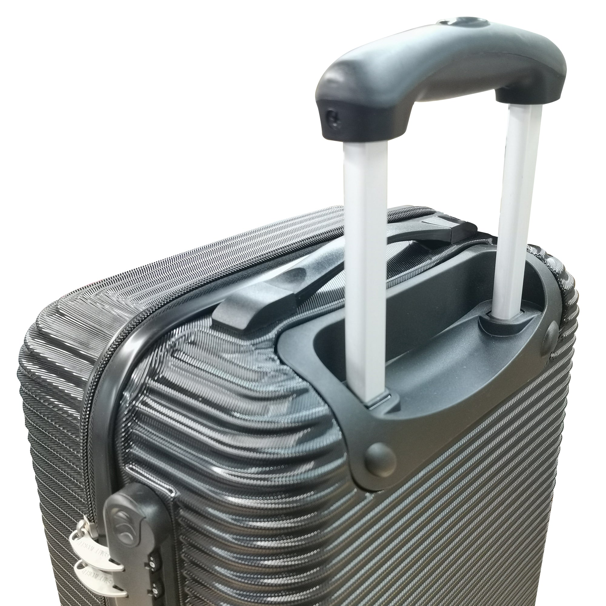 "My World Accent 3-Piece Hardcase Spinner Luggage Set (28""+24""+20"")"