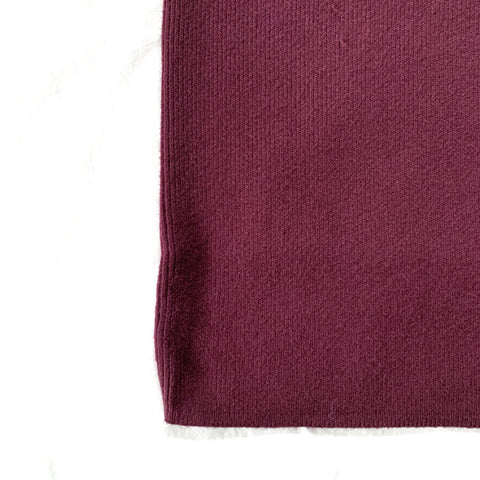 PLUM STRETCH SWEATER DRESS - WEAR JOY PROJECT