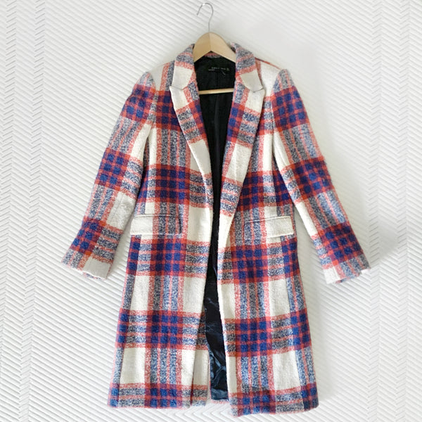 Clippers Outfit - Plaid Jacket