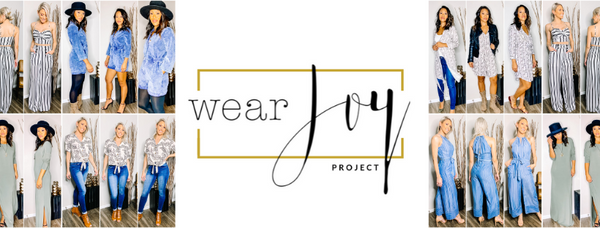 Wear Joy Project Header - Women's clothing, Style Tips, & Self-Love Practices