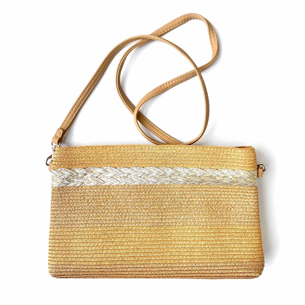 Whicker Crossbody Purse
