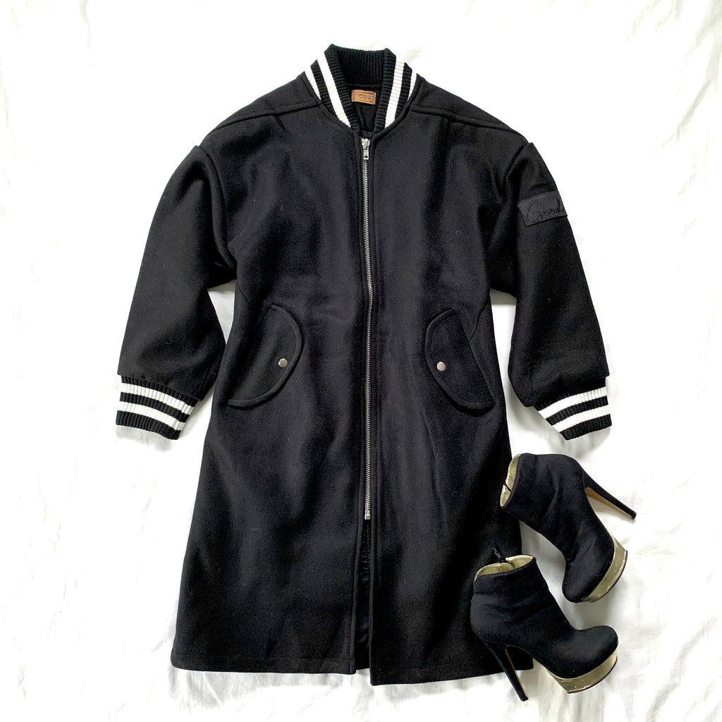 BEST IN CLASS - BLACK VARSITY JACKET