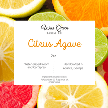 Load image into Gallery viewer, Citrus Agave Room Spray