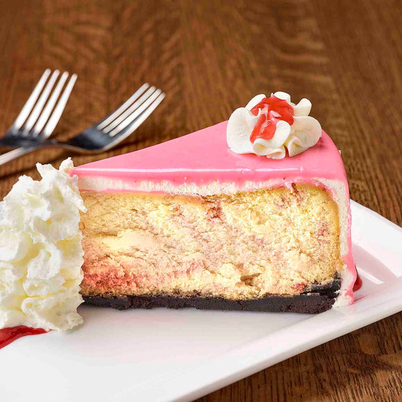 White Chocolate Raspberry  |  slice