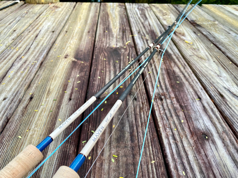 Maven 1-Piece Fly Fishing Rods