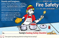Fire Safety Cooking Checklist