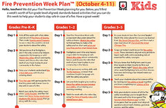 Fire Safety Five Day Plan