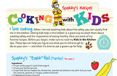 Fire Safety Cooking with Kids