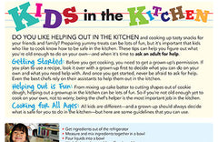 Fire Safety Kids in the Kitchen