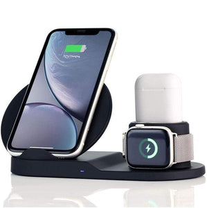 Soprile Wireless Charger Station for iPhone Apple Watch & AirPods