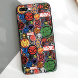 Cool Marvel spiderman phone case for iphone XR XS MAX
